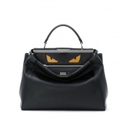 Fendi Bag Bug黑色搞怪手拎包