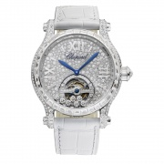Chopard萧邦Happy Sport Tourbillon Joaillerie腕表274462-1001